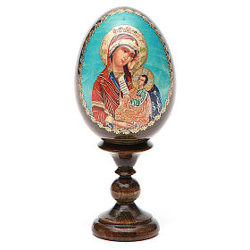 Russian Egg Placate my sadness découpage 13cm s8