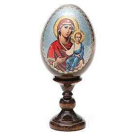Russian Egg Smolenskaya découpage 13cm s1