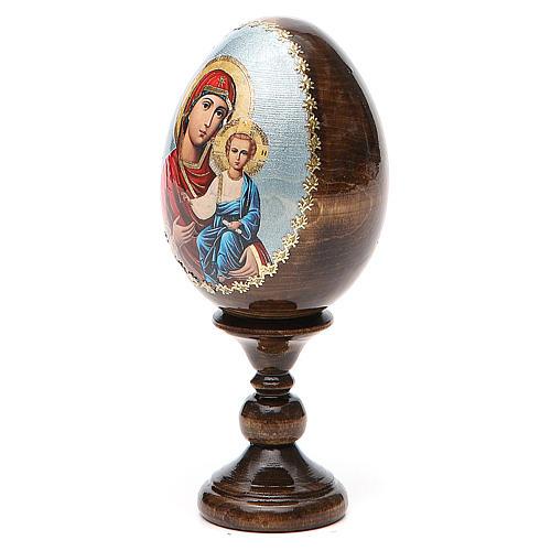 Russian Egg Smolenskaya découpage 13cm 2
