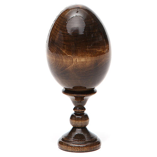 Russian Egg Smolenskaya découpage 13cm 3