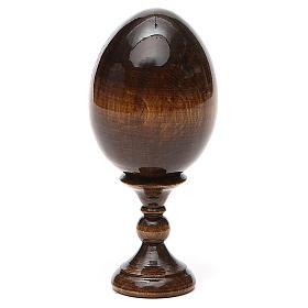 Russian Egg Tikhvinskaya découpage 13cm s3