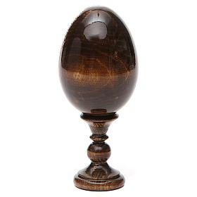 Russian Egg Chenstohovskaya découpage 13cm s10