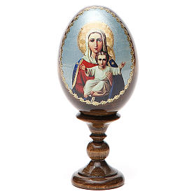 Russian Egg I'm with You découpage 13cm s8