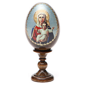 Russian Egg I'm with You découpage 13cm s1