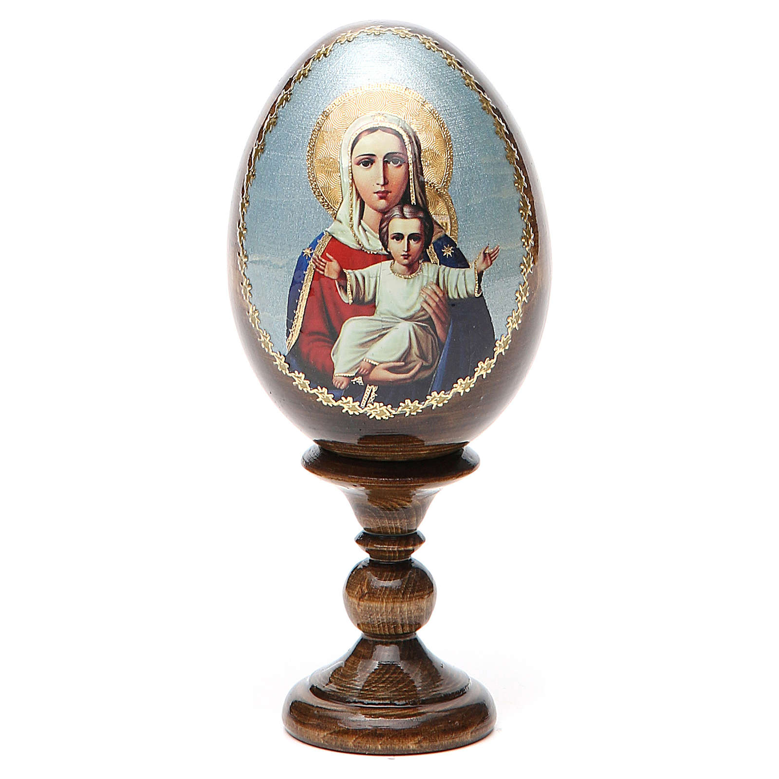 Russian Egg I'm with You découpage 13cm 4