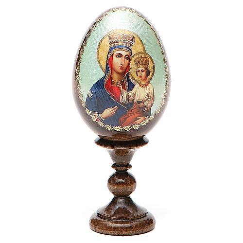 Russian Egg Ozeranskaya découpage 13cm 1