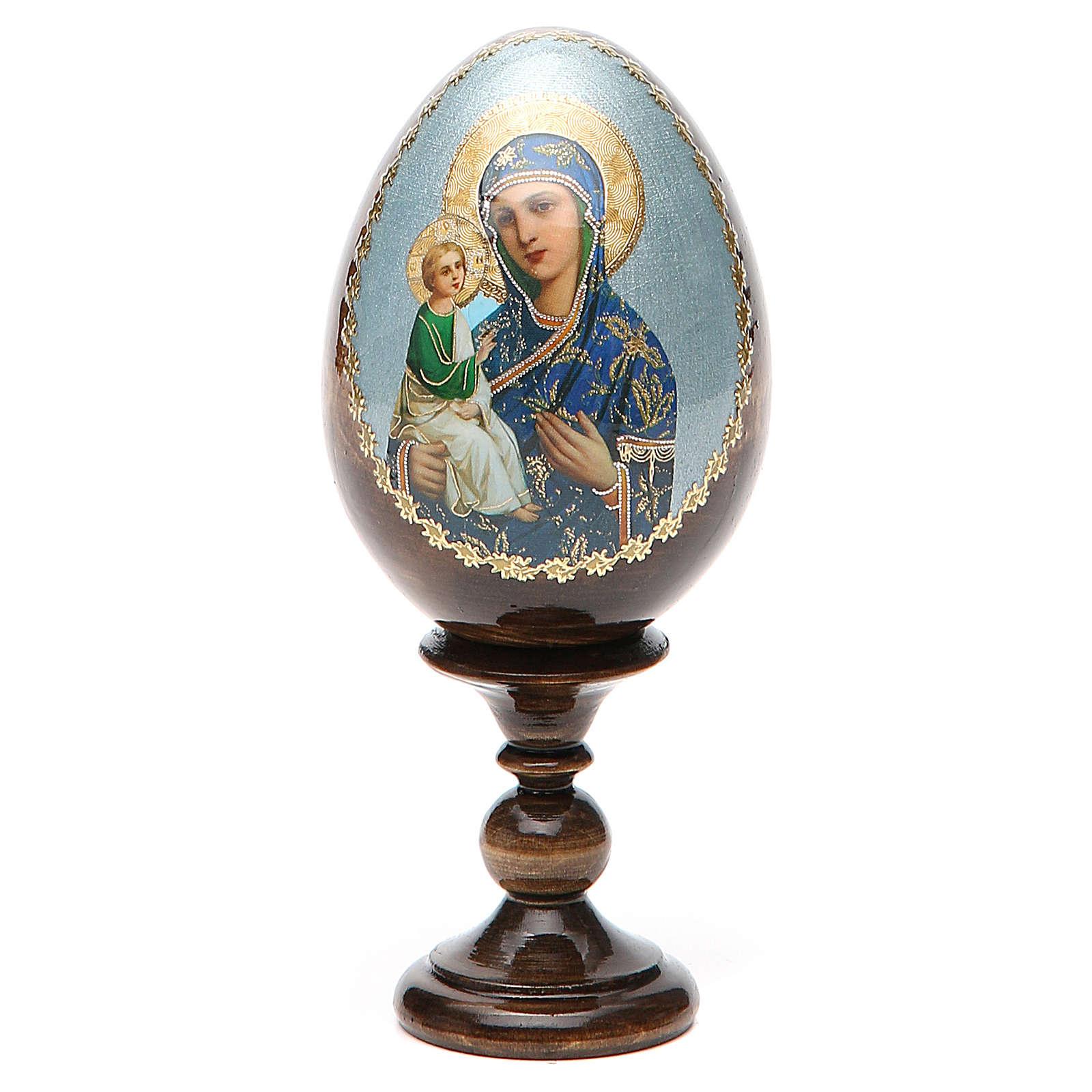 Russian Egg Jerusalemskaya découpage 13cm 4