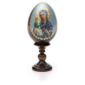 Russian Egg Jerusalemskaya découpage 13cm s5