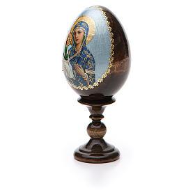 Russian Egg Jerusalemskaya découpage 13cm s6