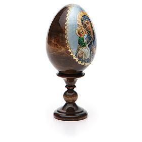 Russian Egg Jerusalemskaya découpage 13cm s8