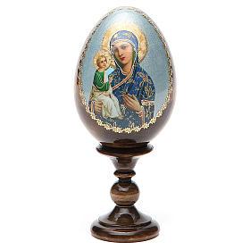 Russian Egg Jerusalemskaya découpage 13cm s9