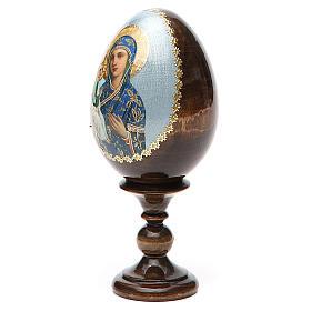 Russian Egg Jerusalemskaya découpage 13cm s10