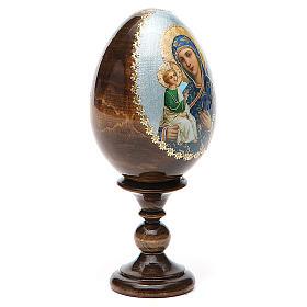 Russian Egg Jerusalemskaya découpage 13cm s4