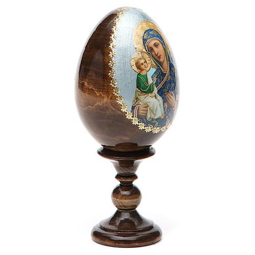 Russian Egg Jerusalemskaya découpage 13cm 12