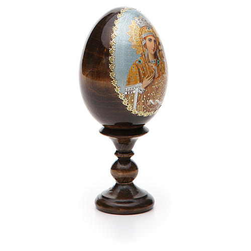 Uovo icona découpage Russia Premonitrice h tot. 13 cm 8