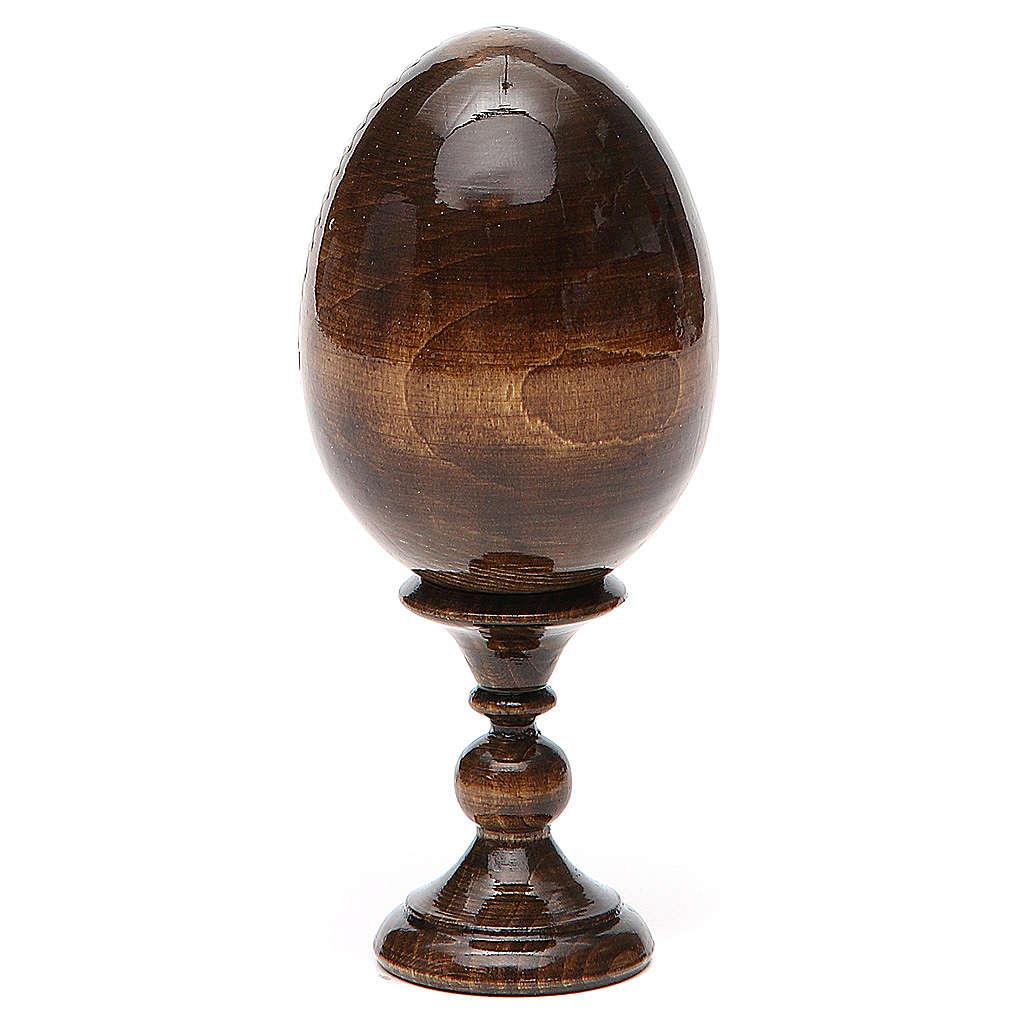 Russian Egg Liberating Virgin découpage 13cm 4