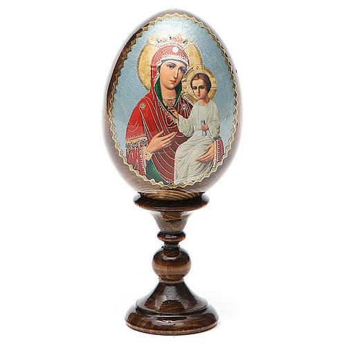 Russian Egg Liberating Virgin découpage 13cm 1