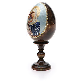 Russian Egg Protectrice of the Fallen découpage 13cm s6