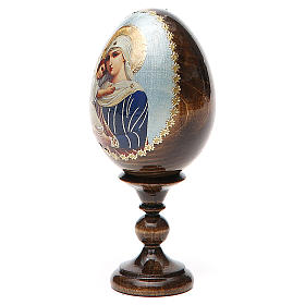 Russian Egg Protectrice of the Fallen découpage 13cm s2