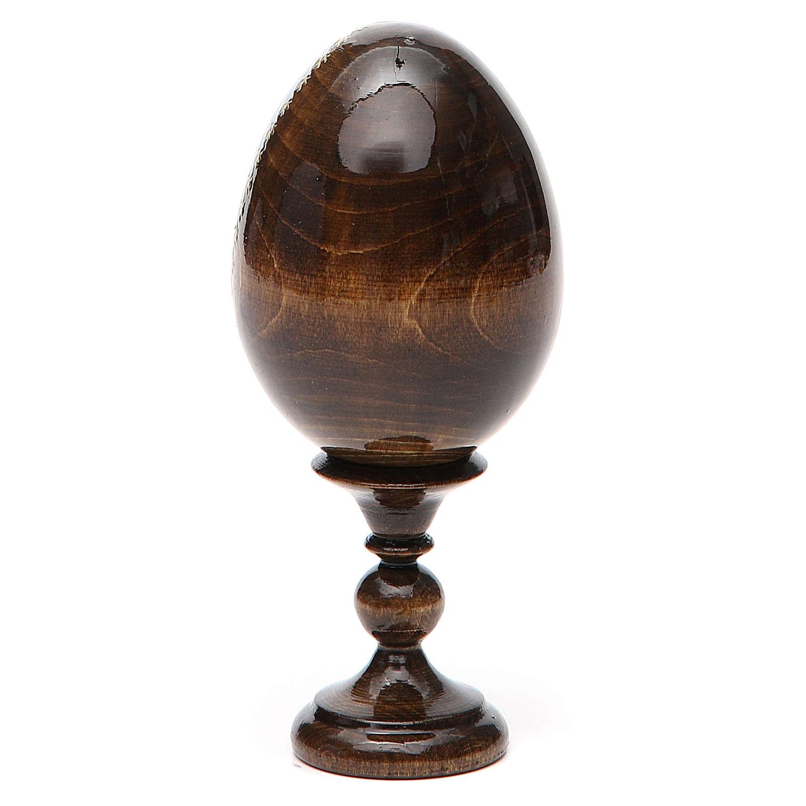 Huevo icono découpage Rusa Protectora de los caídos h tot. 13 cm 4