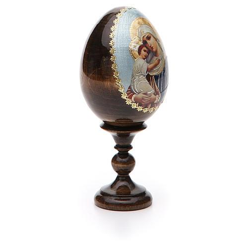 Jajko ikona decoupage Rosja Opiekunka poległych wys. całk. 13 cm 8