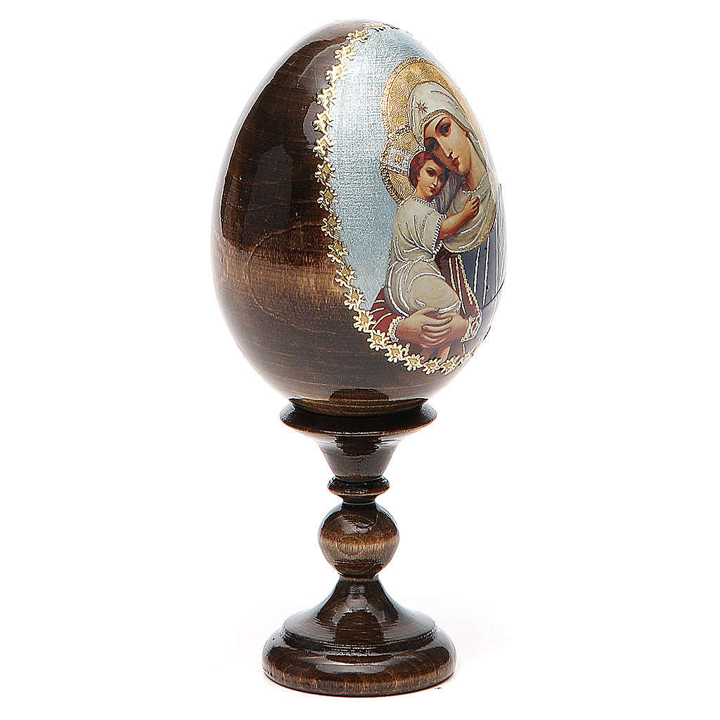 Russian Egg Protectrice of the Fallen découpage 13cm 4