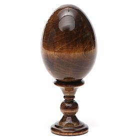 Russian Egg of St. Nicholas découpage 5.12'' s11