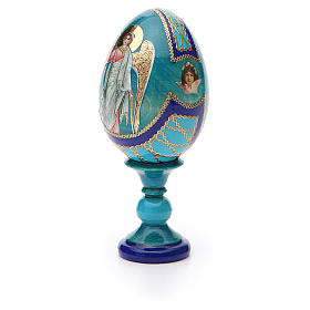 Russian Egg Guardian Angel Fabergè style 13cm s6