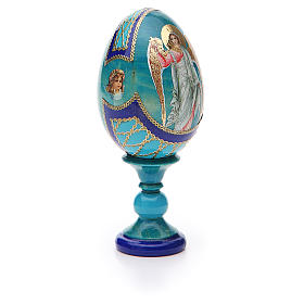 Russian Egg Guardian Angel Fabergè style 13cm s8