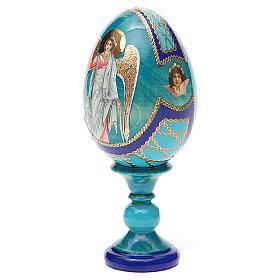 Russian Egg Guardian Angel Fabergè style 13cm s10