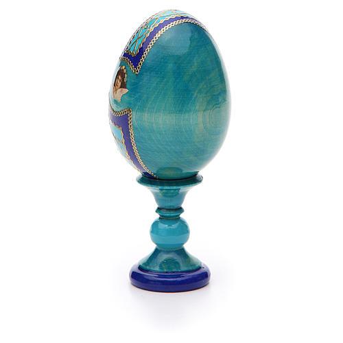 Russian Egg Guardian Angel Fabergè style 13cm 7
