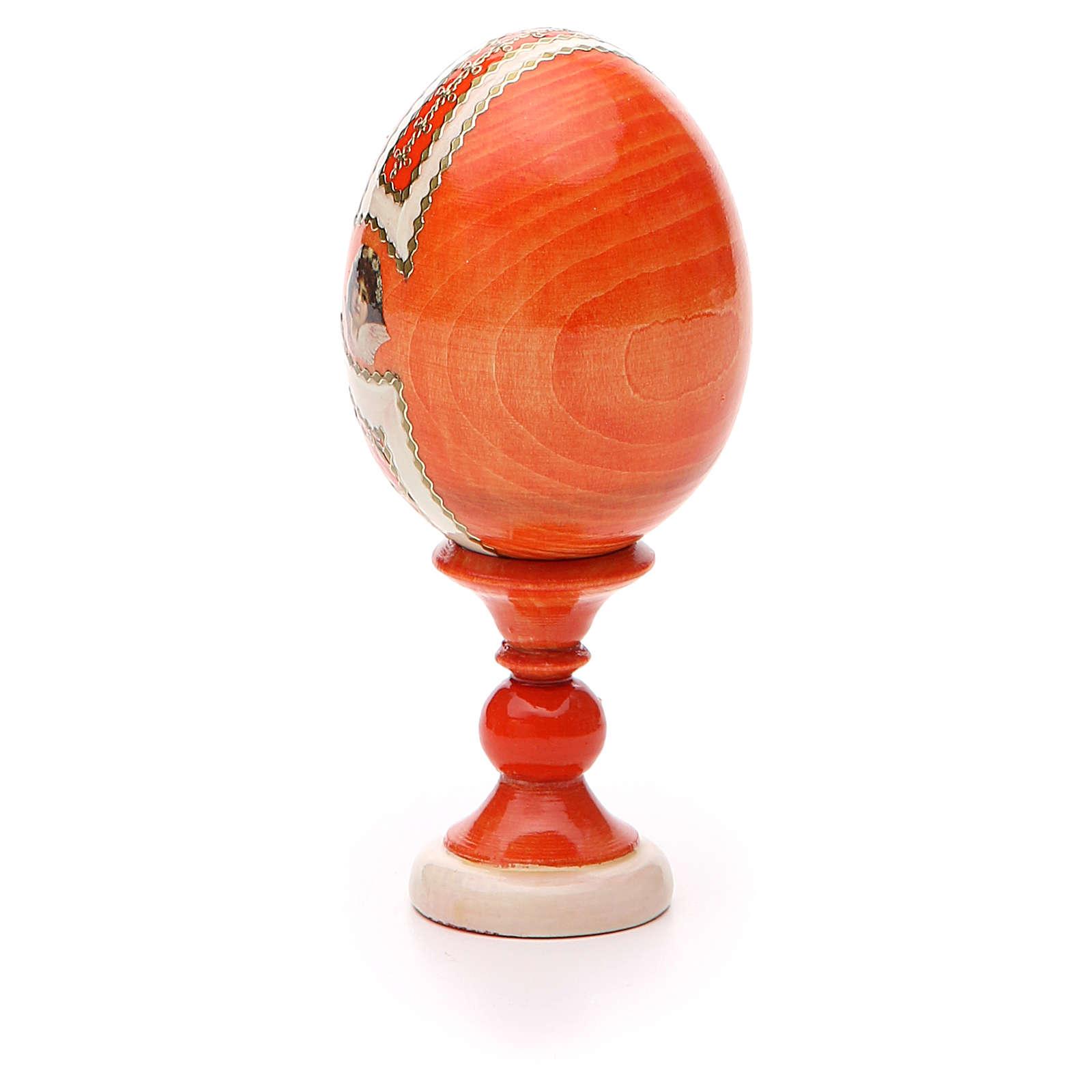 Russian Egg Feodorovskaya Fabergè style 13cm 4