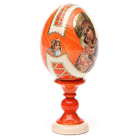 Russian Egg Feodorovskaya Fabergè style 13cm s12