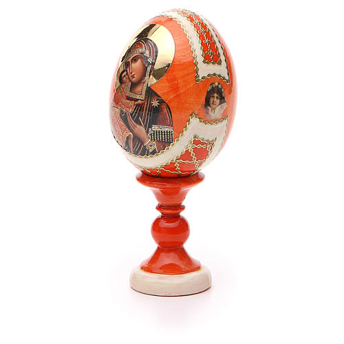 Russian Egg Feodorovskaya Fabergè style 13cm 6
