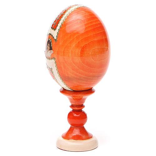Russian Egg Feodorovskaya Fabergè style 13cm 11
