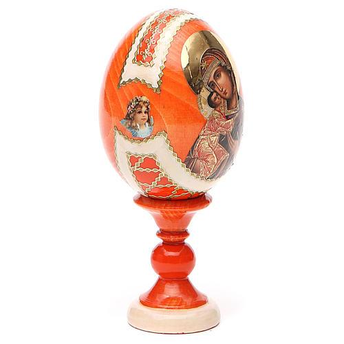 Russian Egg Feodorovskaya Fabergè style 13cm 12