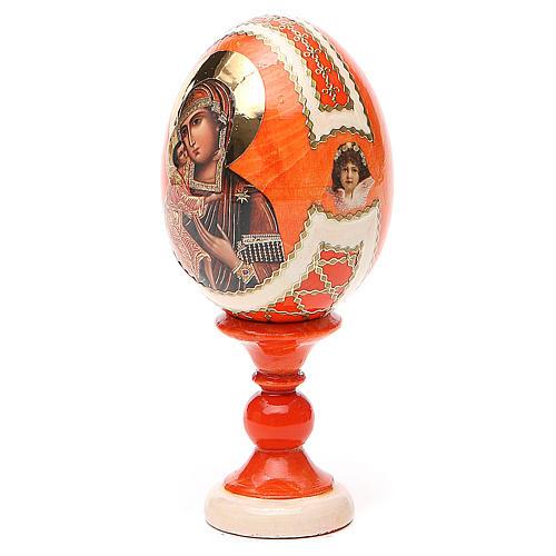 Russian Egg Feodorovskaya Fabergè style 13cm 2