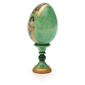 Russian Egg Tikhvinskaya Fabergè style 13cm s7