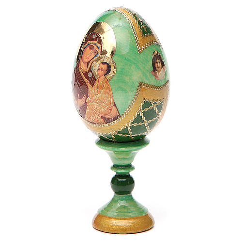 Russian Egg Tikhvinskaya Fabergè style 13cm 10