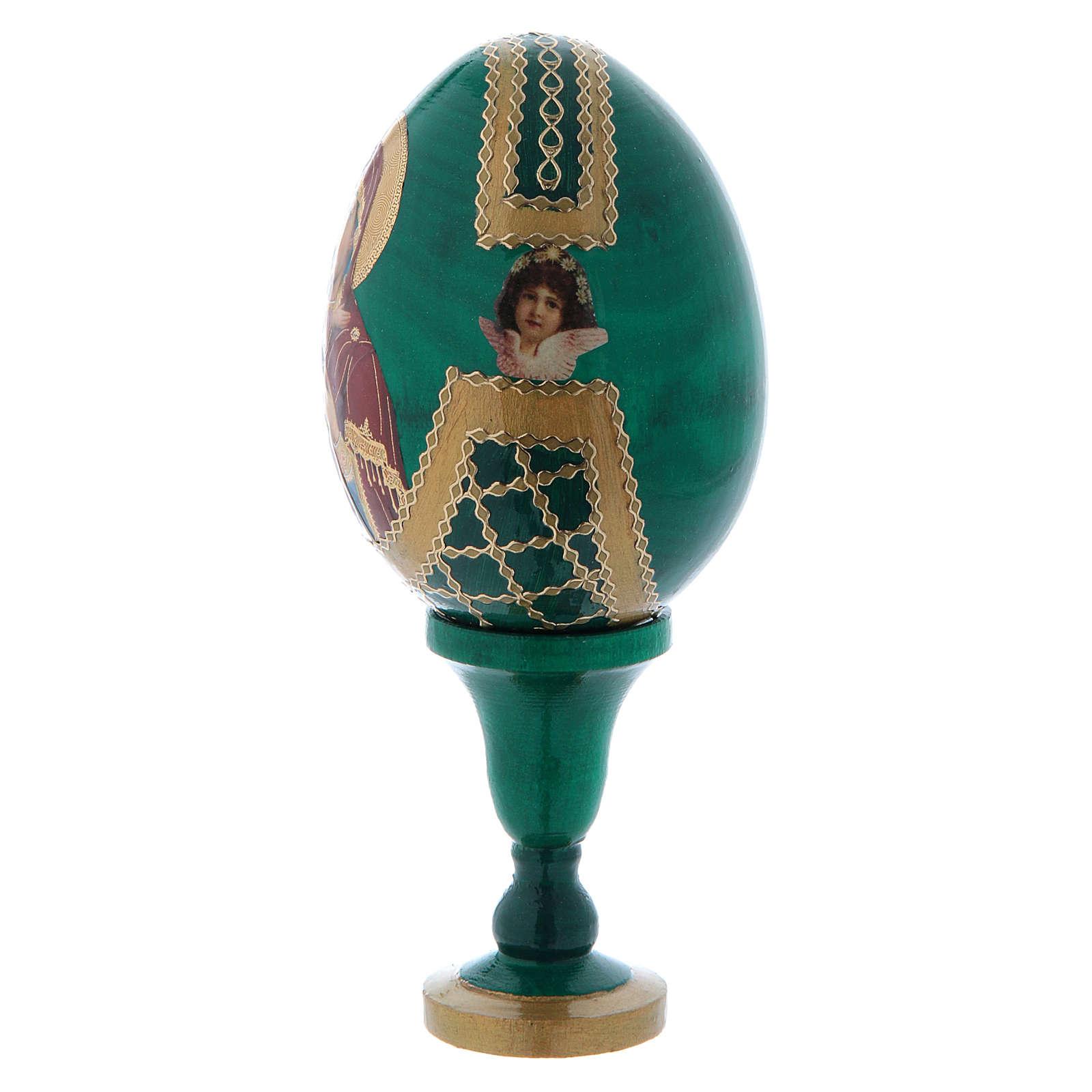 Russian Egg Vladimirskaya Fabergè style 13cm 4