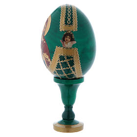 Russian Egg Vladimirskaya Fabergè style 13cm s3