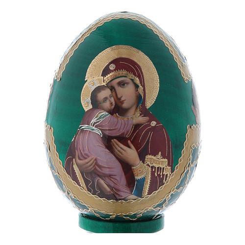 Russian Egg Vladimirskaya Fabergè style 13cm 2