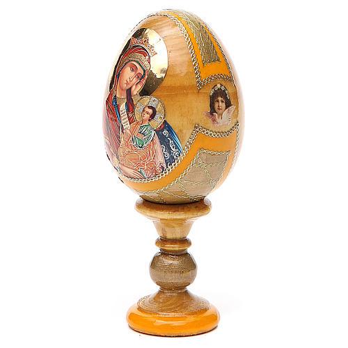 Uovo icona Russa Placa la mia tristezza h tot. 13 cm stile Fabergé 2