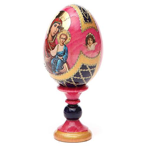 Huevo icono découpage Rusa Smolenskaya  h tot 13 estilo Fabergé 2