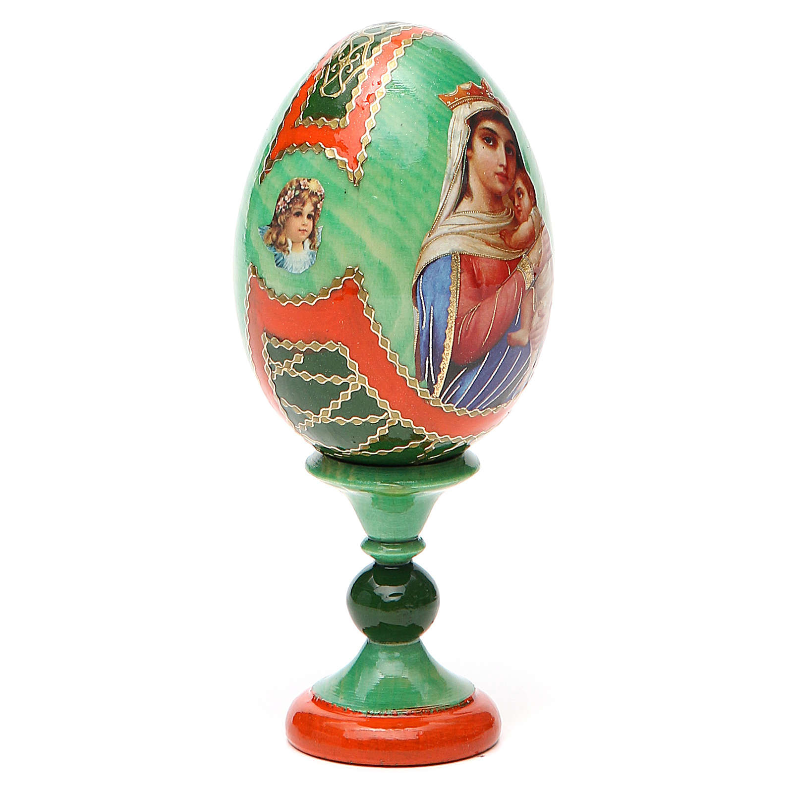 Russian Egg Hope to desperates Fabergè style 13cm 4