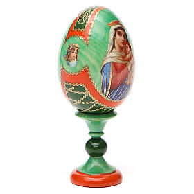 Russian Egg Hope to desperates Fabergè style 13cm s12