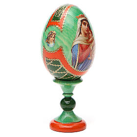 Russian Egg Hope to desperates Fabergè style 13cm s4
