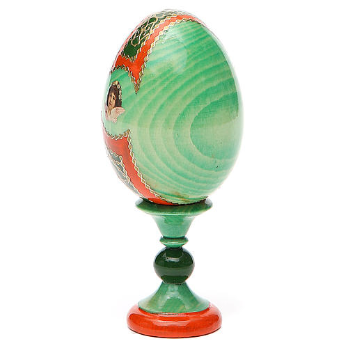 Russian Egg Hope to desperates Fabergè style 13cm 3