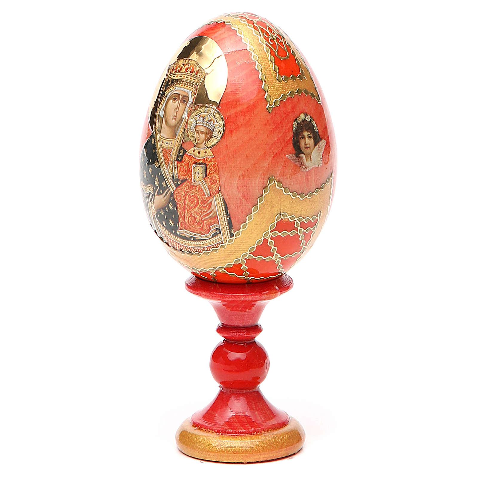 Russian Egg Chenstohovskaya Fabergè style 13cm 4