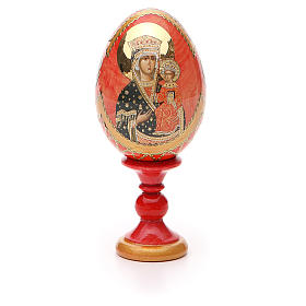 Russian Egg Chenstohovskaya Fabergè style 13cm s5